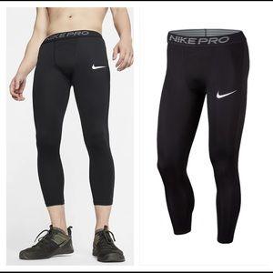Men's Nike Pro Compression Pants Tights Size L